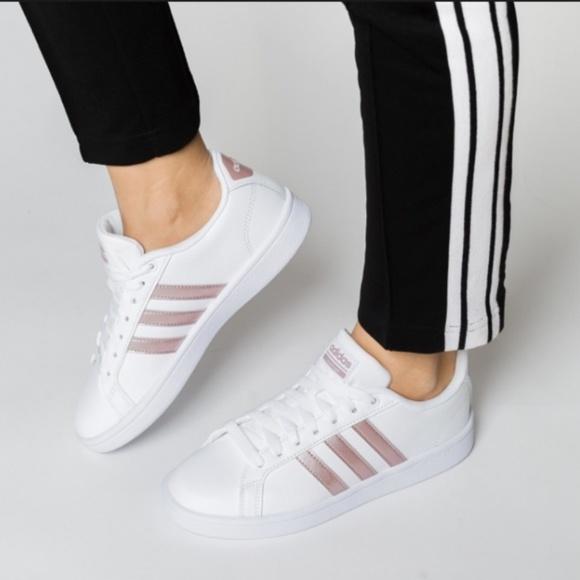 b3c495fc8d39 adidas Shoes - Adidas Cloudfoam Advantage Stripe Women s Shoes